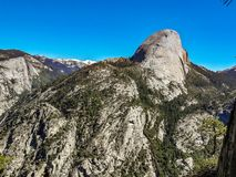 Mezza cupola, parco nazionale del yoesmite, S.U.A. fotografia stock libera da diritti