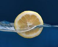 Mezza goccia di limone Immagine Stock Libera da Diritti