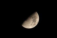 Mezza luna Fotografia Stock