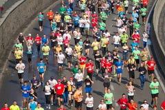 Mezza maratona di Kiev Immagini Stock Libere da Diritti