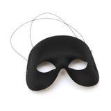 Mezza maschera nera Fotografie Stock