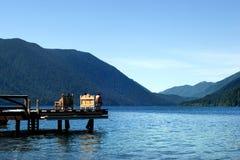 Mezzaluna del lago fotografia stock libera da diritti