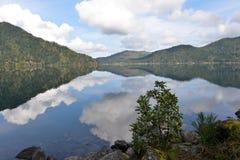 Mezzaluna del lago, Washington State Fotografie Stock Libere da Diritti