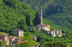 Mezzanego Stock Photo