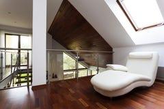 Mezzanine with armchair Royalty Free Stock Image