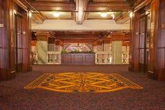 Mezzanine van het hotel royalty-vrije stock foto's