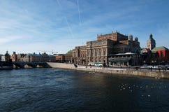 Mezzanotte di Stoccolma Venezia Immagini Stock Libere da Diritti