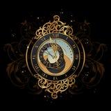 Mezzanotte magica Fotografia Stock