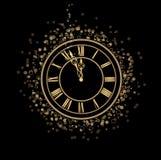 Mezzanotte magica Immagine Stock
