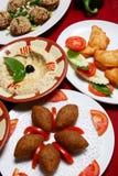 Mezze libanês Fotografia de Stock