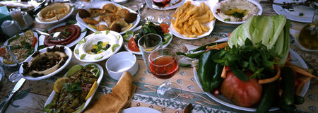 Mezze-Liban Stock Photography