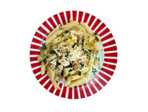 Mezze penne alla formaggella Royalty Free Stock Images