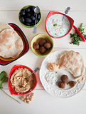 Mezze table Royalty Free Stock Photo