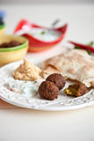 Mezze table Stock Photos