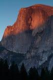 Mezzo alpenglow della cupola Fotografie Stock Libere da Diritti