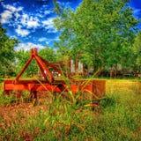 Mezzo del trattore Fotografie Stock Libere da Diritti