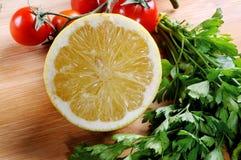 Mezzo limone Fotografia Stock Libera da Diritti