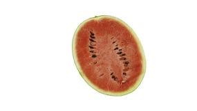 Mezzo watermelom del pezzo Immagini Stock Libere da Diritti