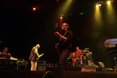 Mezzoforte concert in Hungary Royalty Free Stock Photo