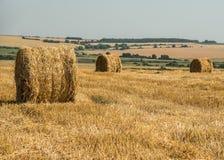Mezzogiorno caldo di autunno in anticipo nella campagna Fotografie Stock Libere da Diritti