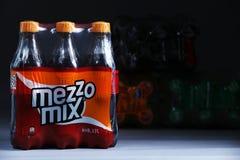 Mezzomixpak dranken royalty-vrije stock foto's