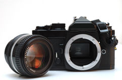 MF φωτογραφικών μηχανών slr Στοκ Εικόνα