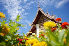 MFU Temple. Temple in mae fah luang university in Chiangrai Thailand Royalty Free Stock Images