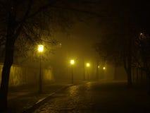 mgła. zdjęcia stock