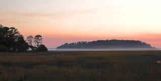 mgła przybrzeżna Fotografia Stock