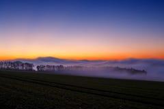 mgła słońca Fotografia Royalty Free
