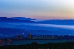 mgła słońca Zdjęcia Royalty Free