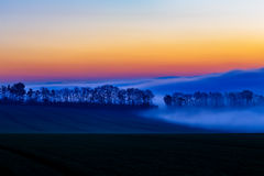 mgła słońca Obraz Stock