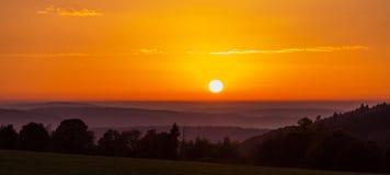 mgła słońca Zdjęcie Stock