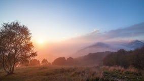Mgła zmierzchu góra