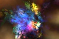 mgławica solaris Zdjęcia Royalty Free