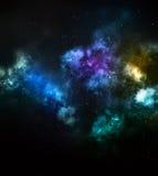 Mgławicy chmura w głębokim kosmosie Fotografia Royalty Free