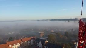 Mgłowy ranek blisko Londyński UK Zdjęcia Royalty Free