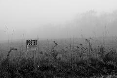 mgłowy znak obrazy stock