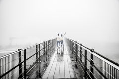 Mgły miłość zdjęcie royalty free