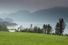 mgły mondsee Zdjęcie Stock