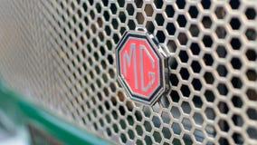 MG汽车商标 免版税图库摄影