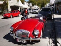 MG, винтажные автомобили, автомобили спорт Стоковое Изображение