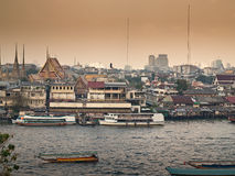 Mgławy Bangkok Obraz Stock