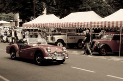 MG at Bergamo Historic Grand Prix 2015 Stock Image
