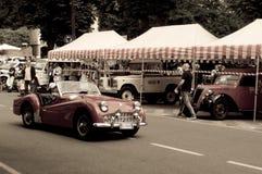 MG bij de Historische Grand Prix 2015 van Bergamo Stock Afbeelding