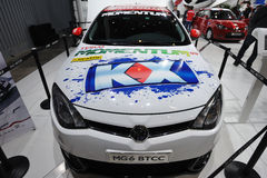 Mg6 BTCC front Royalty Free Stock Photography
