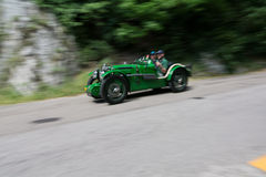 MG C类型侏儒超了负荷1932年 图库摄影