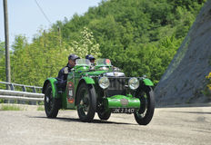 MG C-Type Midget (1932). Attends the mille miglia historic race on May 21 2012,  The rally will feature over 380 classic cars travelling 1000 miles (appx 1600 Stock Images