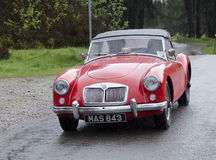 MG Car MGA Royalty Free Stock Photography