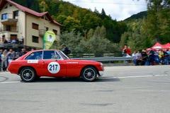 MG CGT samlar bilen Fotografering för Bildbyråer